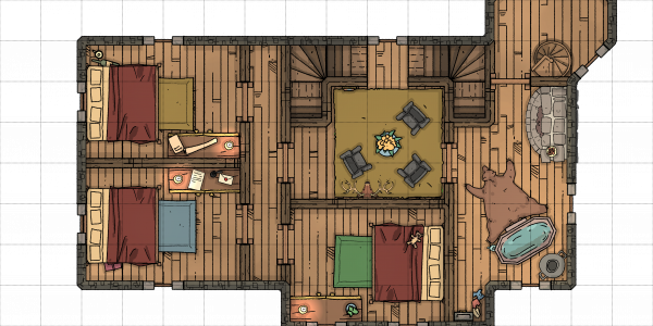Trollskull Manor – Third Story